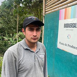 Brandon Galindo Auxiliar de producción