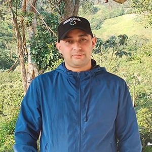 Johann Sutta Coordinador proyecto lombricompost